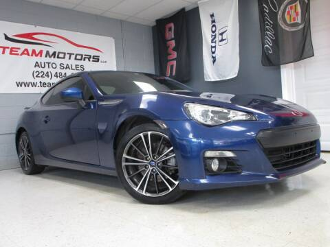 2013 Subaru BRZ for sale at TEAM MOTORS LLC in East Dundee IL