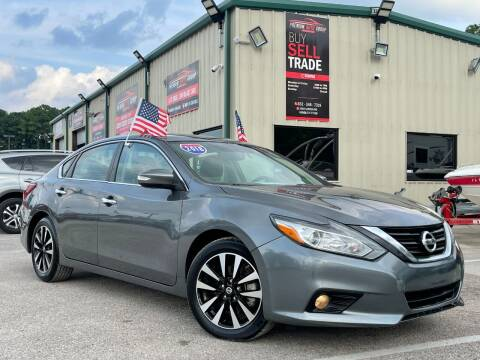 2018 Nissan Altima for sale at Premium Auto Group in Humble TX