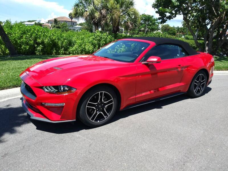 2019 Ford Mustang for sale at GulfCoast Motorsports in Osprey FL