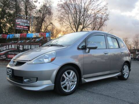 2008 Honda Fit for sale at Vigeants Auto Sales Inc in Lowell MA