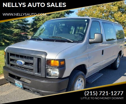2014 Ford E-Series Wagon for sale at NELLYS AUTO SALES in Souderton PA