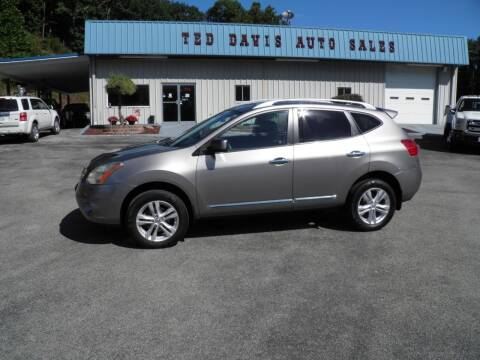 2013 Nissan Rogue for sale at Ted Davis Auto Sales in Riverton WV