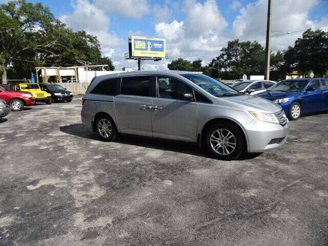 2012 Honda Odyssey for sale at DONNY MILLS AUTO SALES in Largo FL