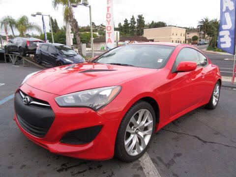 2013 Hyundai Genesis Coupe for sale at Eagle Auto in La Mesa CA
