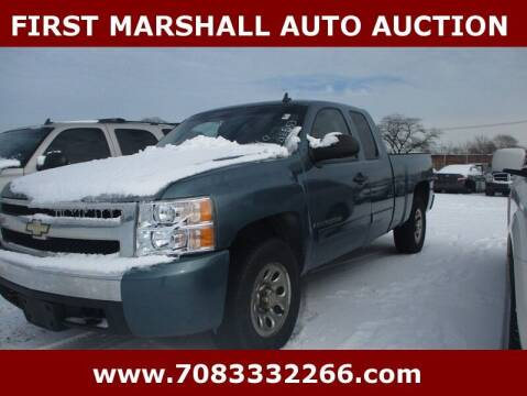 2008 Chevrolet Silverado 1500 for sale at First Marshall Auto Auction in Harvey IL