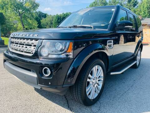 2016 Land Rover LR4 for sale at Classic Luxury Motors in Buford GA