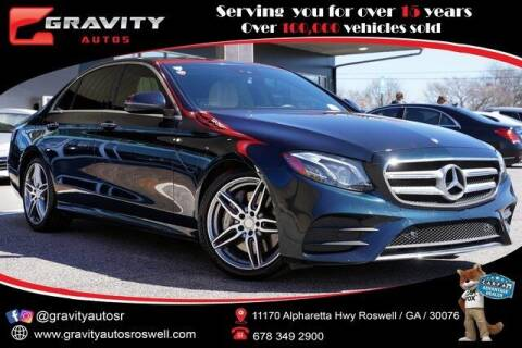 2017 Mercedes-Benz E-Class for sale at Gravity Autos Roswell in Roswell GA