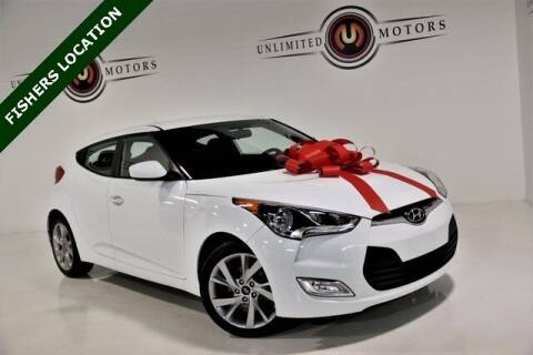 2017 Hyundai Veloster for sale at Unlimited Motors in Fishers IN