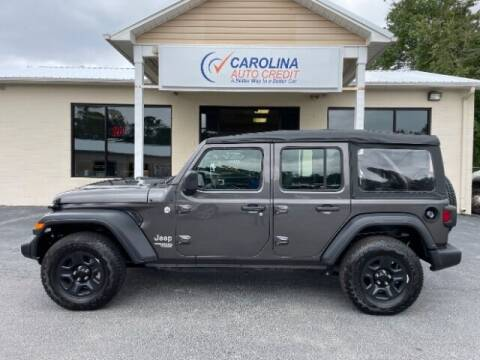 2018 Jeep Wrangler Unlimited for sale at Carolina Auto Credit in Youngsville NC