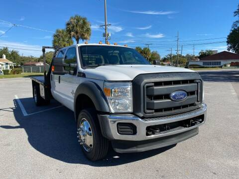 2015 Ford F-550 Super Duty for sale at LUXURY AUTO MALL in Tampa FL