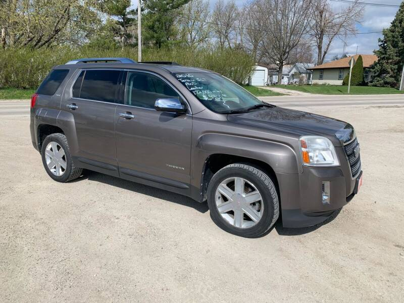 2010 GMC Terrain for sale at GREENFIELD AUTO SALES in Greenfield IA