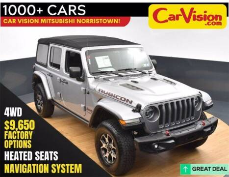2019 Jeep Wrangler Unlimited for sale at Car Vision Buying Center in Norristown PA