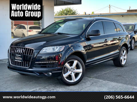 2011 Audi Q7 for sale at Worldwide Auto Group in Auburn WA
