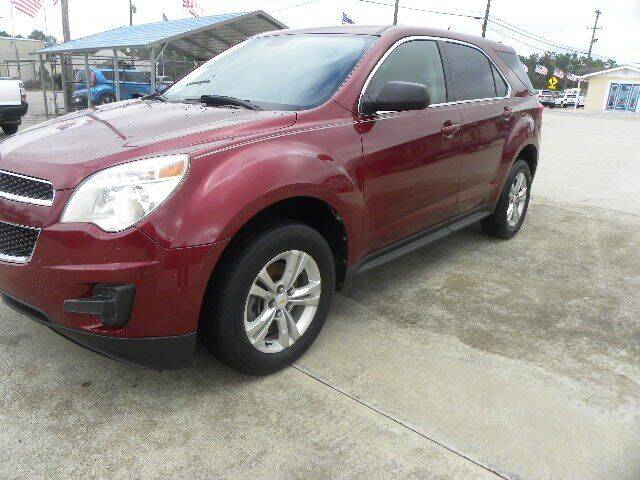 2010 Chevrolet Equinox for sale at VANN'S AUTO MART in Jesup GA