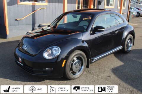 2016 Volkswagen Beetle for sale at Sabeti Motors in Tacoma WA