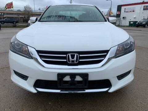 2014 Honda Accord for sale at Minuteman Auto Sales in Saint Paul MN