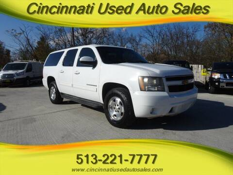 2011 Chevrolet Suburban for sale at Cincinnati Used Auto Sales in Cincinnati OH