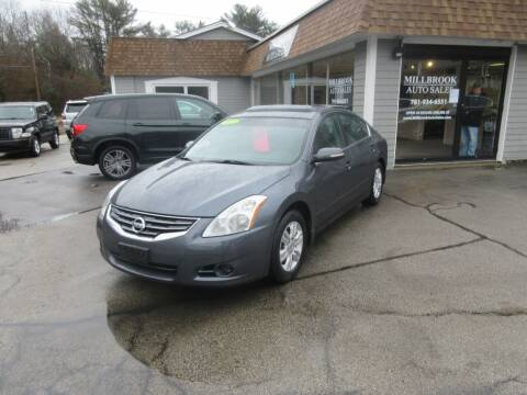 2012 Nissan Altima for sale at Millbrook Auto Sales in Duxbury MA