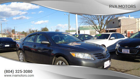 2011 Toyota Camry for sale at RVA MOTORS in Richmond VA