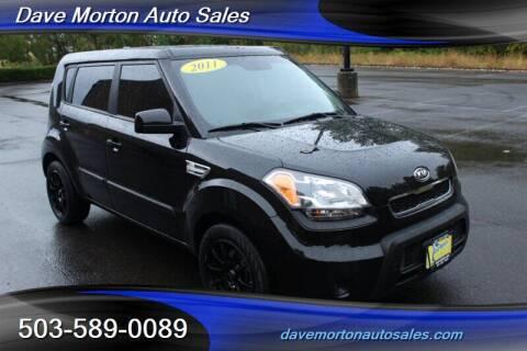 2011 Kia Soul for sale at Dave Morton Auto Sales in Salem OR