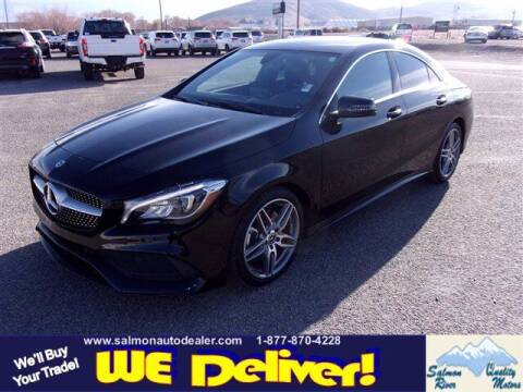 2018 Mercedes-Benz CLA for sale at QUALITY MOTORS in Salmon ID