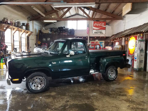 1976 Dodge Custom 100 for sale at Cool Classic Rides in Redmond OR