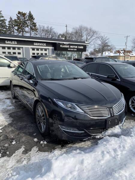 2014 Lincoln MKZ Hybrid for sale at CLASSIC MOTOR CARS in West Allis WI