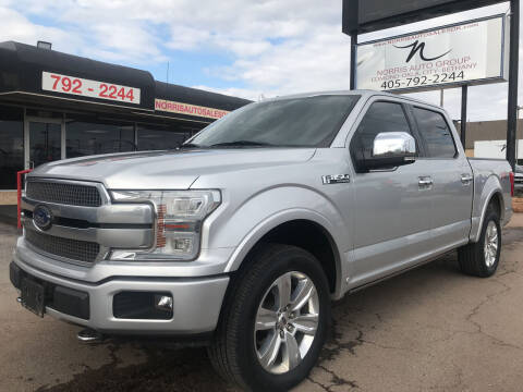 2018 Ford F-150 for sale at NORRIS AUTO SALES in Oklahoma City OK