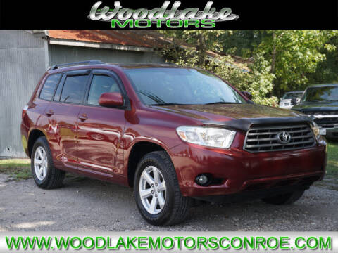 2010 Toyota Highlander for sale at WOODLAKE MOTORS in Conroe TX