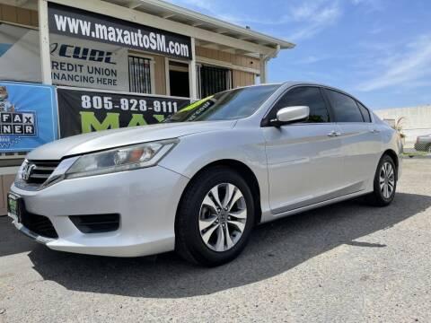 2014 Honda Accord for sale at Max Auto Sales in Santa Maria CA