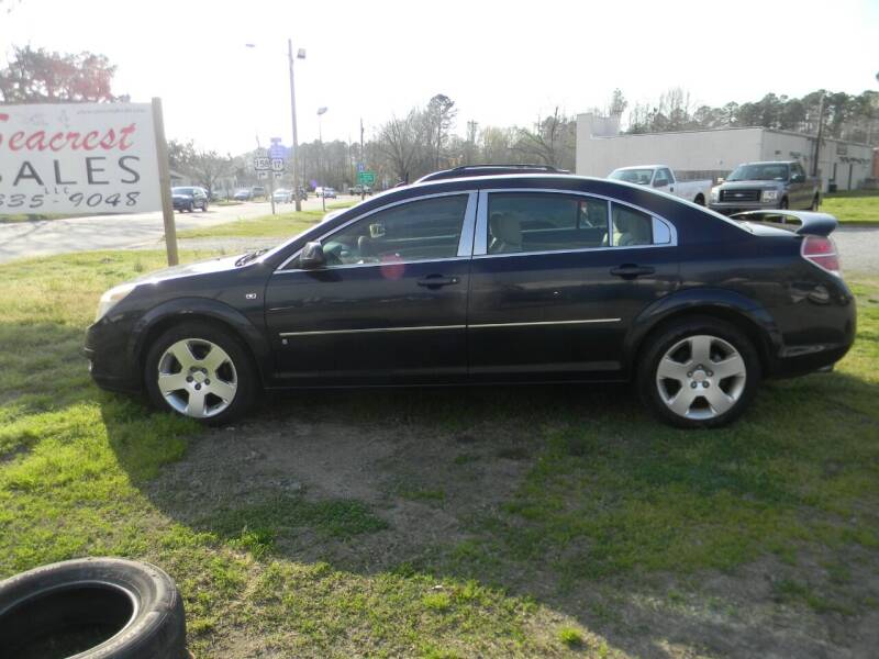 2007 Saturn Aura for sale at SeaCrest Sales, LLC in Elizabeth City NC