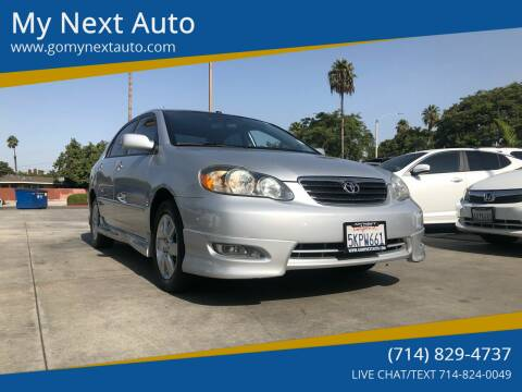 2005 Toyota Corolla for sale at My Next Auto in Anaheim CA