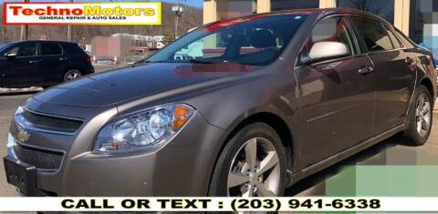 2011 Chevrolet Malibu for sale at Techno Motors in Danbury CT