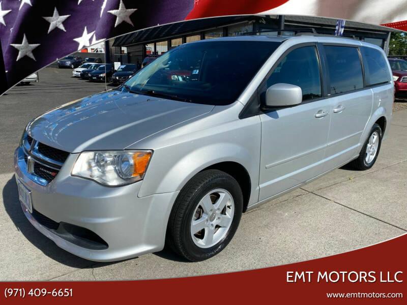 2012 Dodge Grand Caravan for sale at EMT MOTORS LLC in Portland OR