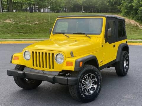 2004 Jeep Wrangler for sale at Diamond Automobile Exchange in Woodbridge VA
