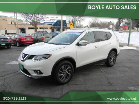 2016 Nissan Rogue for sale at Boyle Auto Sales in Appleton WI