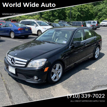 2010 Mercedes-Benz C-Class for sale at World Wide Auto in Fayetteville NC