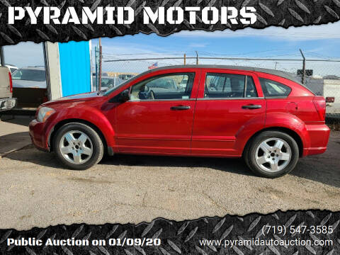 2008 Dodge Caliber for sale at PYRAMID MOTORS - Fountain Lot in Fountain CO