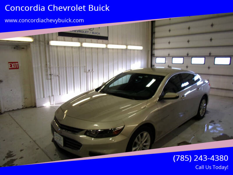 2016 Chevrolet Malibu for sale at Concordia Chevrolet Buick in Concordia KS