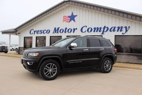 2018 Jeep Grand Cherokee for sale at Cresco Motor Company in Cresco IA