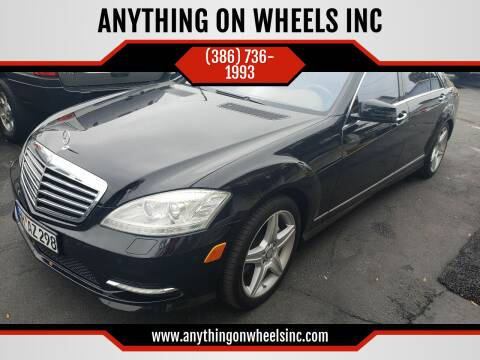 2011 Mercedes-Benz S-Class for sale at ANYTHING ON WHEELS INC in Deland FL