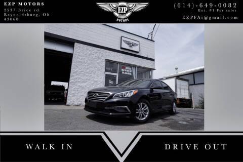2015 Hyundai Sonata for sale at EZP Motors in Reynoldsburg OH