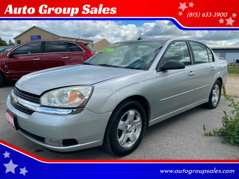 2004 Chevrolet Malibu for sale at Auto Group Sales in Roscoe IL