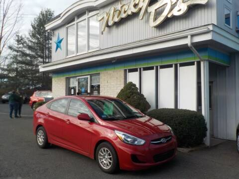 2015 Hyundai Accent for sale at Nicky D's in Easthampton MA