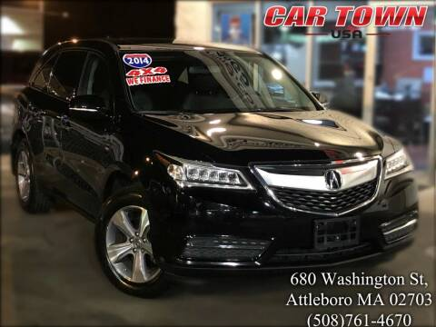 2014 Acura MDX for sale at Car Town USA in Attleboro MA