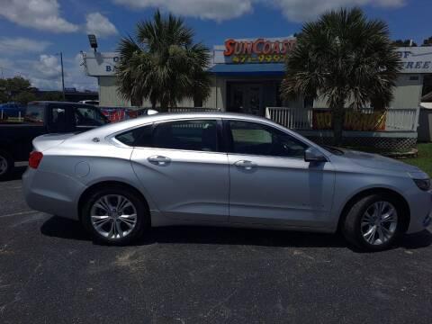2014 Chevrolet Impala for sale at Sun Coast City Auto Sales in Mobile AL