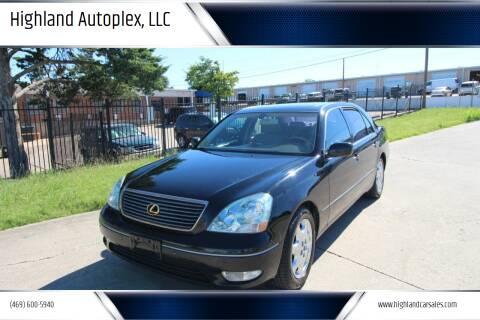 2003 Lexus LS 430 for sale at Highland Autoplex, LLC in Dallas TX