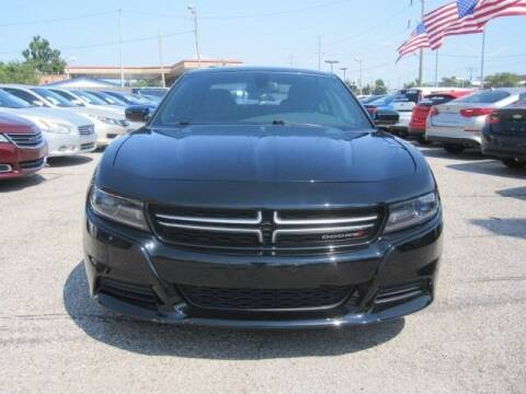 2015 Dodge Charger for sale at T & D Motor Company in Bethany OK
