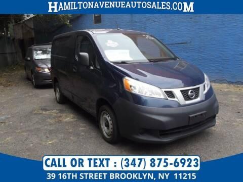 2013 Nissan NV200 for sale at Hamilton Avenue Auto Sales in Brooklyn NY