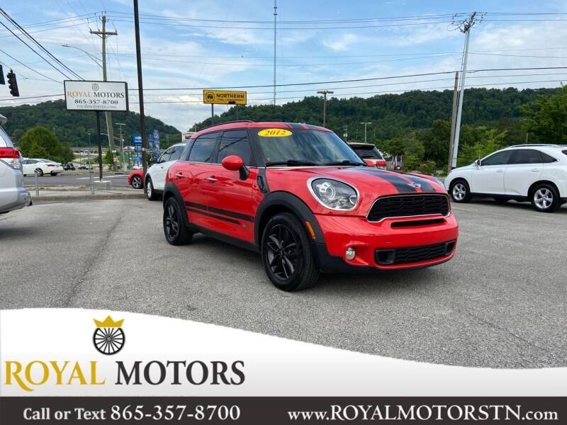 2012 MINI Cooper Countryman for sale at ROYAL MOTORS LLC in Knoxville TN